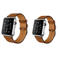1:1 Original Design Single Tour Standard Leather Band For hermes Apple Watch Band Wrist Strap Bracelet For iWatch + Adapters