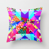 Mix #235 Throw Pillow by Ornaart