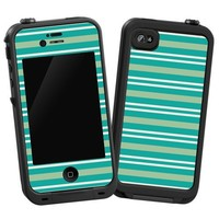 """Striped Ocean """"Protective Decal Skin"""" for LifeProof 4/4s Case"""
