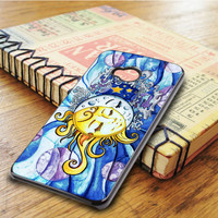 Sun And Moon HTC One M7 Case