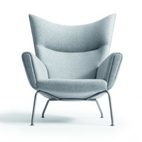 CH445 Wing Chair on SUITE NY