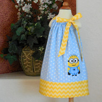 Toddler Girl Pillowcase Dress Despicable Me Minion 6mo 9 mo 12 mo 18 mo 24 mo 2T 3T 4T 5T