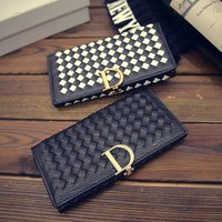Wallet Winter Korean Ladies Bags Stylish Purse [6048276865]
