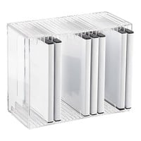 Acrylic DVD Rack