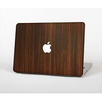 """The Dark Walnut Stained Wood Skin Set for the Apple MacBook Air 13"""""""