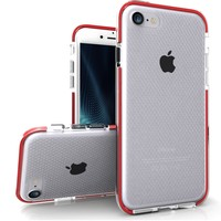 Zizo® Pulse Case for iPhone 7 with Anti-Slip Grip + Slim Fit Lightweight Protection