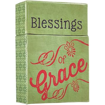 """Retro Blessings """"A Box of Blessings"""" Thanksgiving Card Box For Family and Friends"""
