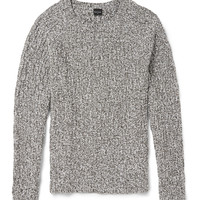 PS by Paul Smith - Cable-Knit Cotton-Blend Sweater   MR PORTER