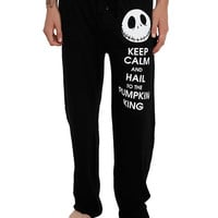 The Nightmare Before Christmas Keep Calm Men's Pajama Pants