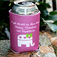 Classy, Fabulous and Republican Koozie