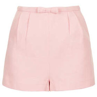 Pink Bow Front Short