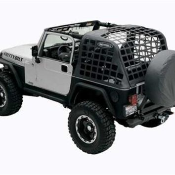 All Things Jeep - Cargo Net Restraint System for Jeep Wrangler TJ (1997-2006)