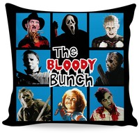 The Bloody Bunch Couch Pillow
