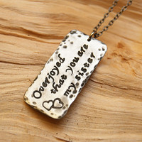 personalized necklace  , sister,  friendship gift, personalized jewelry, personalized necklace sister