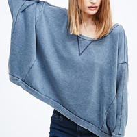 BDG Olsen Butterfly Jumper in Blue - Urban Outfitters