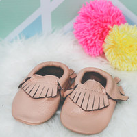 Treasure of the Tribe Moccasin - Blush