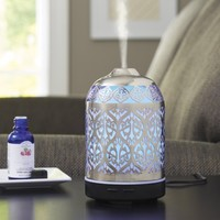 Better Homes and Gardens 100 mL Essential Oil Diffuser, Delicate Filigree - Walmart.com
