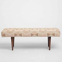 Henderson Printed Upholstered Bench
