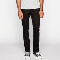 Rsq New York Mens Slim Straight Chino Pants Black  In Sizes