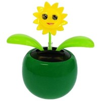 One Solar Powered Dancing Sunflower