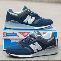 QIYIF new balance 997 men sport casual n words multicolor sneakers running shoes  5