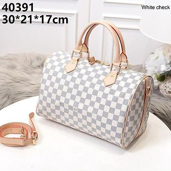 LV fashion print women shoulder bag handbag crossbody bag