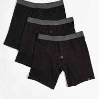 Daily/Special Black Boxer Brief 3-Pack- Black