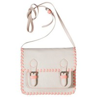 Mossimo Supply Co. Whipstitch Crossbody Bag - Beige