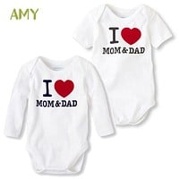 Newborn Baby Romper winter overalls Long Sleeve Cotton  Baby boy girl Rompers Roupas de bebe Infantil Jumpsuit Baby Clothes