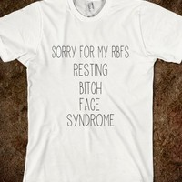 Resting Bitch Face - ppolecho - Skreened T-shirts, Organic Shirts, Hoodies, Kids Tees, Baby One-Pieces and Tote Bags