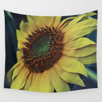 Sunflower for a dream Wall Tapestry by VanessaGF