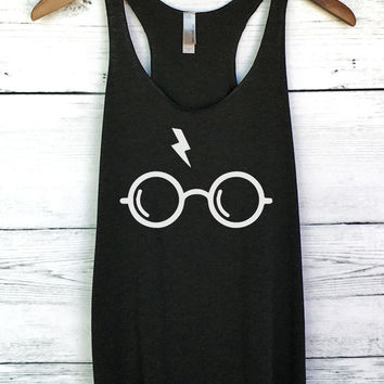 Harry Potter Glasses Tank Top