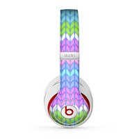 The Bright-Colored Knit Pattern Skin for the Beats by Dre Studio (2013+ Version) Headphones