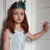 Tutu Du Monde Starling Headband-Azure - TDMH59-AZ - FINAL SALE