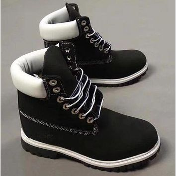 Timberland Fashion Winter Waterproof Boots Martin Leather Boots Shoes-4