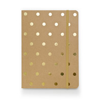Polka Dot Journal - Kraft