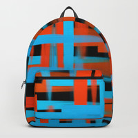 Abstract | Oil brush strokes Backpack by edrawings38
