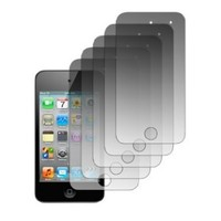 EMPIRE 5 Pack of Premium Crystal Clear Screen Protectors for Apple iPod Touch 4 4th Gen [EMPIRE Packaging]