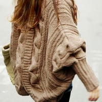 Cupshe Warm It Up Twist Knitting Cardigan