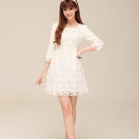$ 21.79 2013 New Arrival Korean Style Lace Dress