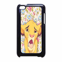Lion Simba Pride Floral iPod Touch 4th Generation Case