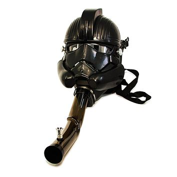 Underground Gas Mask - Black Trooper