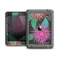 The Bright Colorful Flower Sprouts Apple iPad Mini LifeProof Nuud Case Skin Set