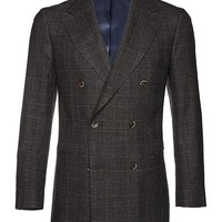 Jacket Brown Check Soho C683 | Suitsupply Online Store