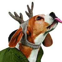 American Beagle Outfitters dog Antler - holiday heather brown - Small