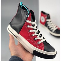 Converse 1970S Oreo hit neutral black and red stitching couple high-top casual shoes