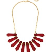 Crown Of Creation Necklace - Maroon
