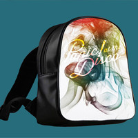 Panic at The Disco Smoke for Backpack / Custom Bag / School Bag / Children Bag / Custom School Bag *