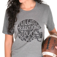 Tailgates, Traditions And Touchdowns Tee