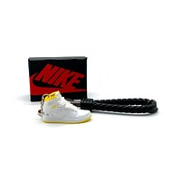3D Sneaker Keychain- Air Jordan 1 High First Class Flight